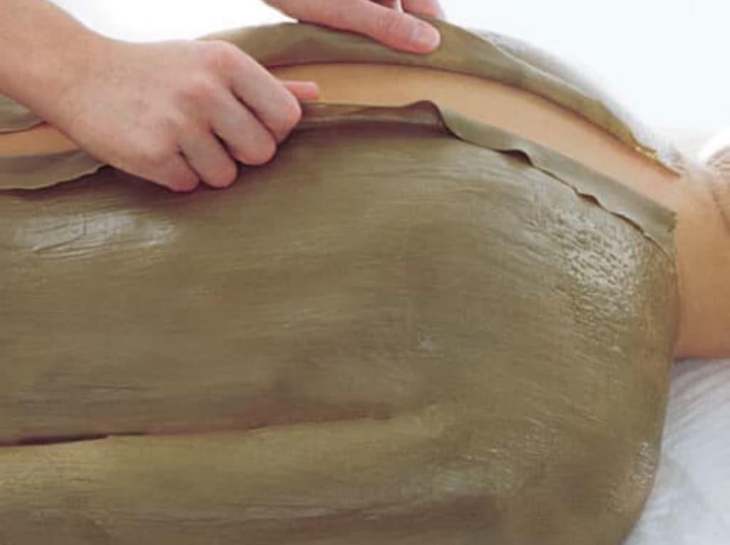 Parafango aplicado en espalda y brazos