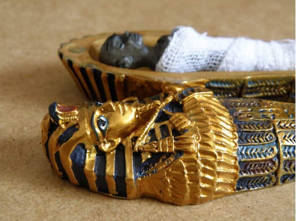 Momias egipcias embalsamadas